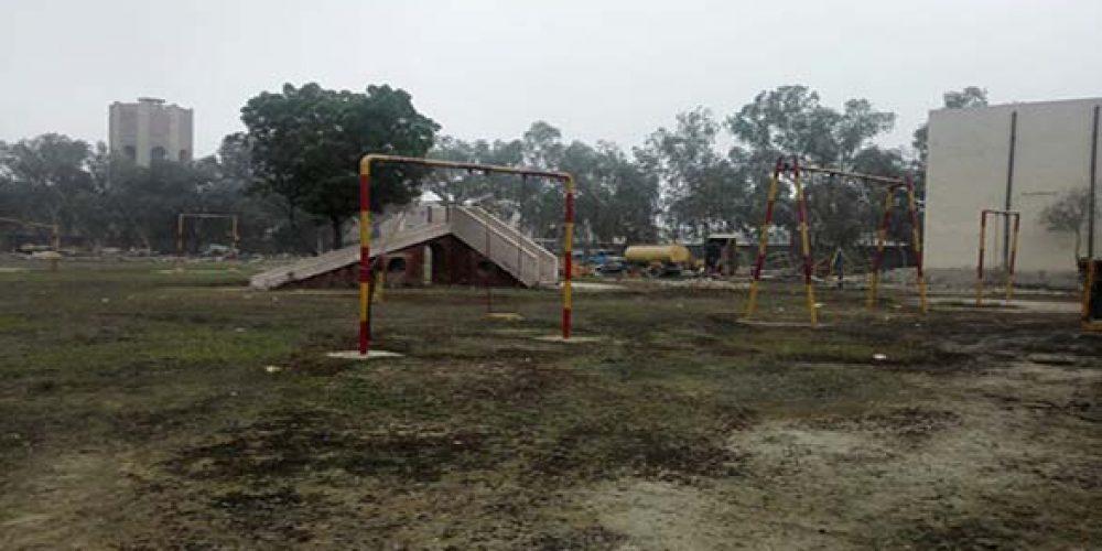 چاندنی پارک کی حالت زار